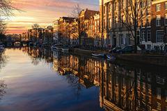 Amsterdam Winter Morning