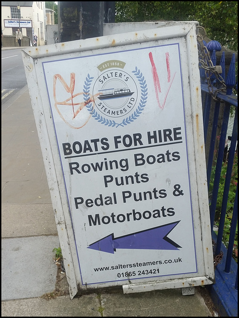 Salter's Steamers boat hire