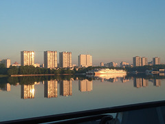 Moscou au lever du jour !