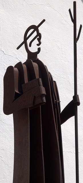 Statue at Sant Joan de Labritja