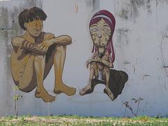 Street art, Faro (Portugal)