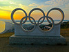 Olympic Rings, Portland Heights
