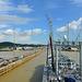 Approaching Miraflores Locks, Panama Canal