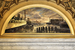 Industrial River Mural #1 – London Guaranty & Accident Building Lobby, Chicago, Illinois, United States