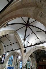 milford-on-sea church, hants