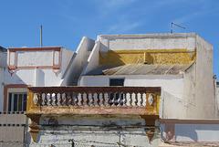 Maison ancienne traditionnelle à Olhao (Portugal)