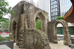 elsing spital, london wall, london