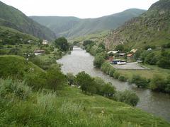 Gates of Tamara, on River Kura.