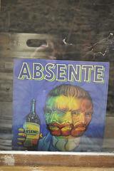 La fée absinthe .