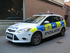 BTP Ford Focus in Worcester - 30 November 2018