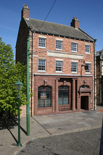 Barclays Bank,Beamish Museum 9th April 2017