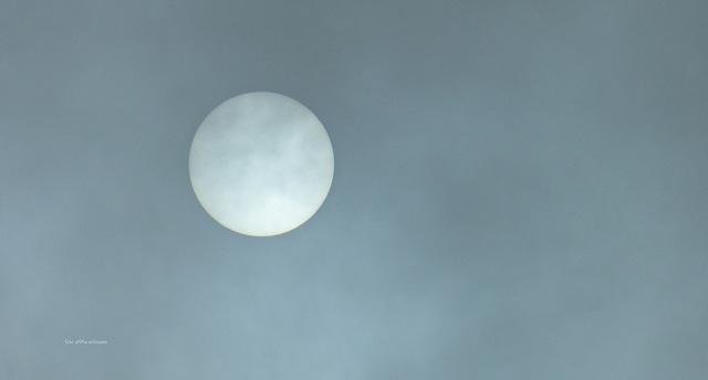 Die Sonne vernebelt ... the sun in fog...