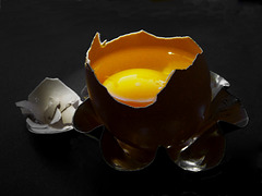 Mein Frühstücksei, noch gar nicht fertig! (PiP)
