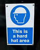 London 2018 – This is a hard hat area