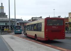 DSCF7821 Halton Borough Transport 37 (DK03 NTD) in Liverpool - 16 Jun 2017