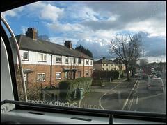 up the Abingdon Road