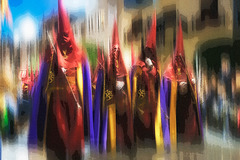 CALLOSA DE SEGURA ( Espagne), SEMAINE SAINTE 2019