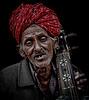 Street trabadour of Jaiselmer Rajasthan