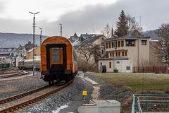 Thüringer Sonderzug auf dem Weg nach Schwarzenberg