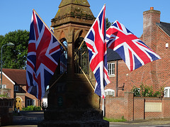 D-Day Commemoration in Ruyton XI Towns
