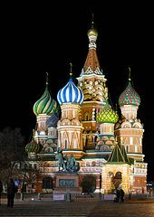 Saint-Basile Cathédrale à Moscou (Russie)