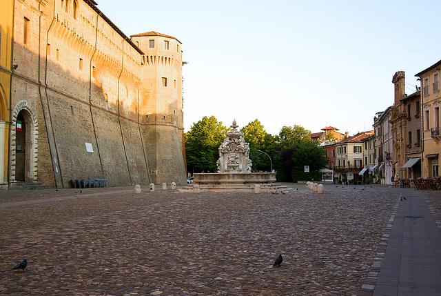 Piazza del popolo a Cesena