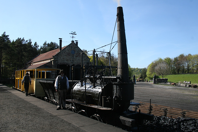 Steam Eliphant,Beamish Museum 9th April 2017