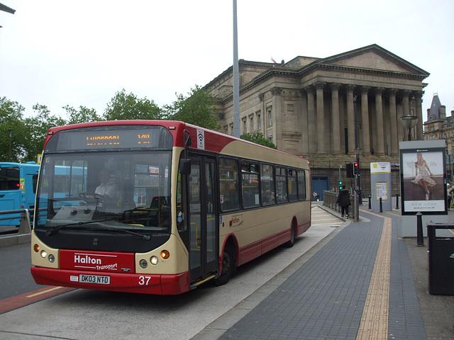 DSCF7820 Halton Borough Transport 37 (DK03 NTD) in Liverpool - 16 Jun 2017