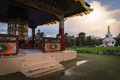 Drukpa Temple in Plouray (Brittany)