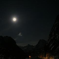 Trollfjord (view on black)