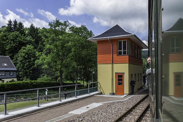 Stellwerk in Kipsdorf