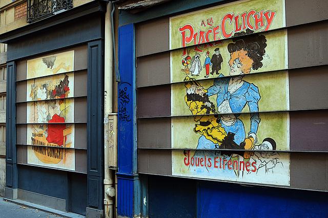 Rue Cavallotti , Paris 18 ème
