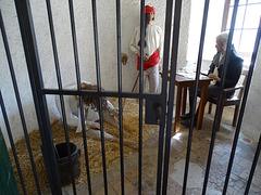 ...comme si vous y étiez...dans la prison d'Entrevaux...