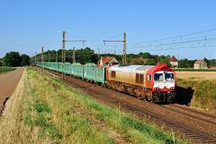 Class 77 et train de bois