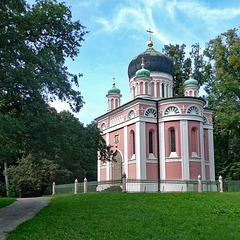 Germany - Potsdam, Alexander Nevsky Memorial Church