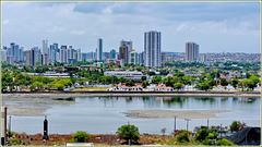 Recife : la città vista dal mare
