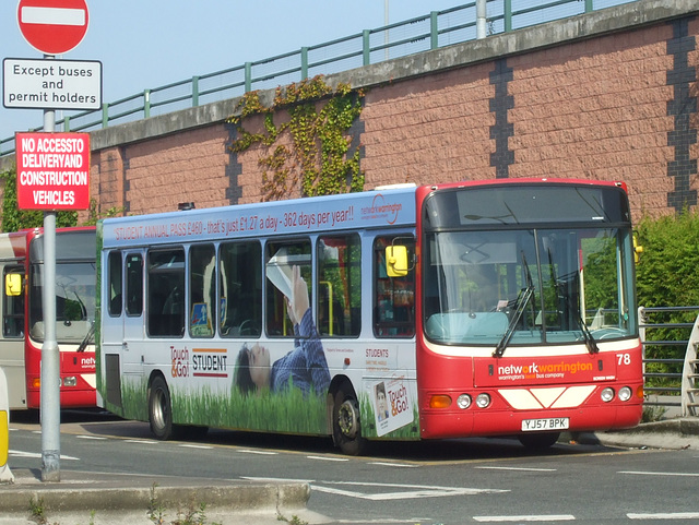 DSCF8106 Network Warrington 78 (YJ57 BPK) - 17 Jun 2017