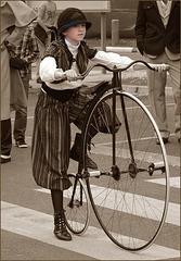 ... à Bi-cyclette ....