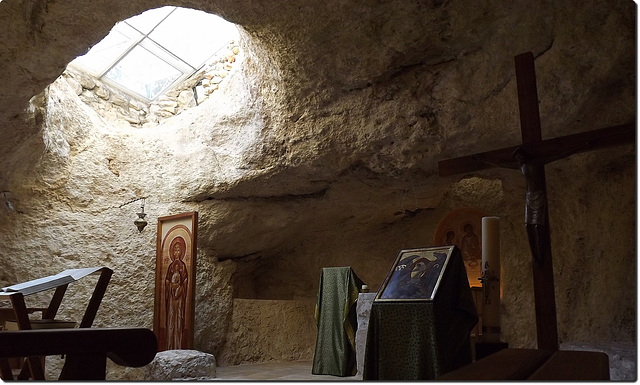 Crypt-church of Lavra Netufa