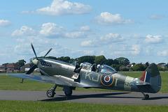 Spitfire G-ILDA at Solent Airport (4) - 3 June 2018