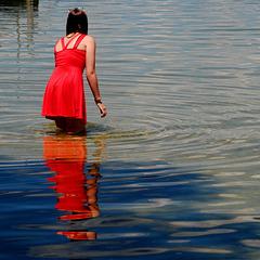 Das Mädchen im Wasser