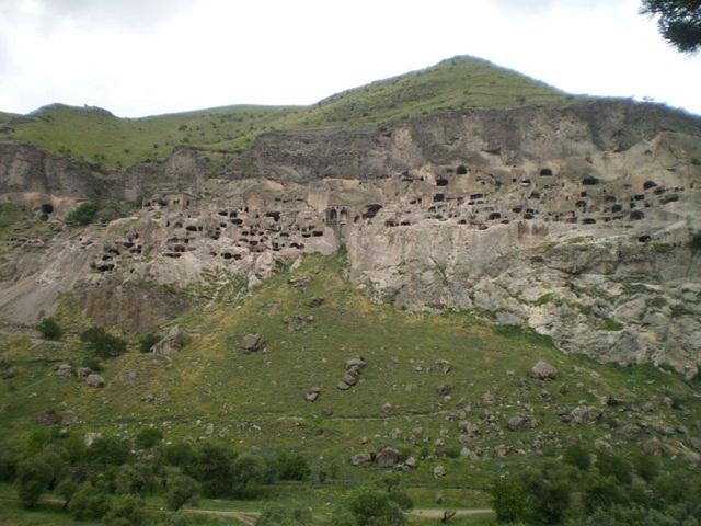 Vardzia monastic complex.