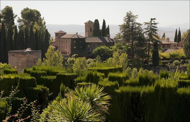 Summer gardens view II