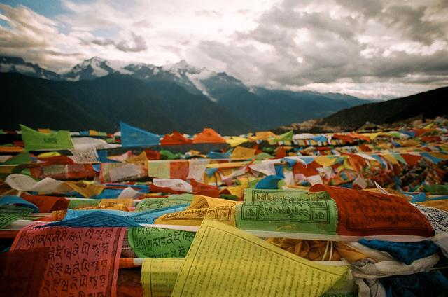 Kawakarpo & Prayer Flags