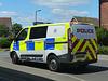 Hampshire Police Transit in Lee on Solent (1) - 3 June 2017