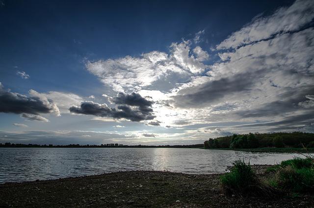 l'étang du grand Glareins - Lapeyrouse (Ain)