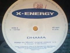 DHAMA  - Keep On Movin'-