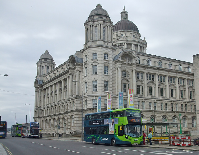 DSCF7899 Arriva and Stagecoach buses in Liverpool - 16 Jun 2017