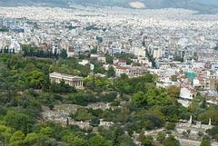 Atenas desde la Acrópolis
