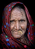 Rajasthani desert tribal woman